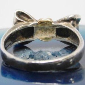 Tiffany & Co. Jewelry - AuthenticTiffany & Co 925 18K Gold Bow Ring Size 6